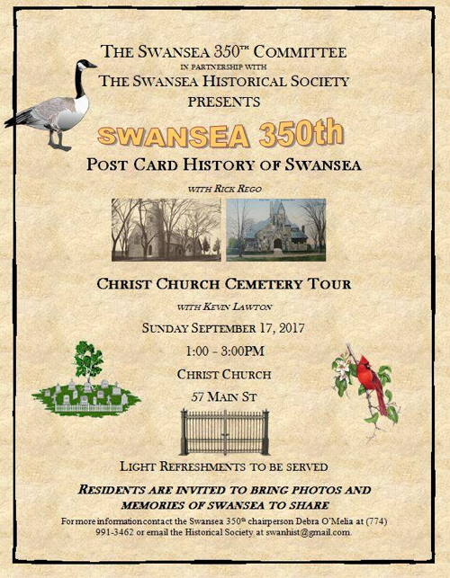 Post Card History & Cemetery Tour